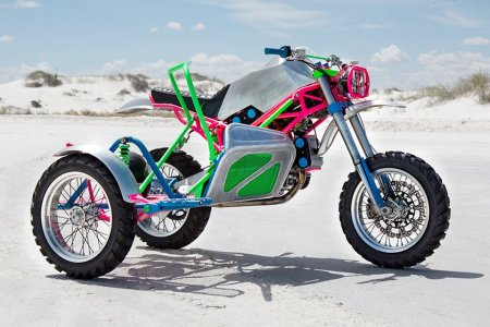 What '80s Fever Dream Birthed This Monstrous Neon Ducati?