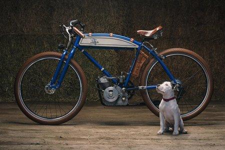 Ducati's Steampunk 'Cucciolo' Looks Like It Fell Off a Bicycle Truck