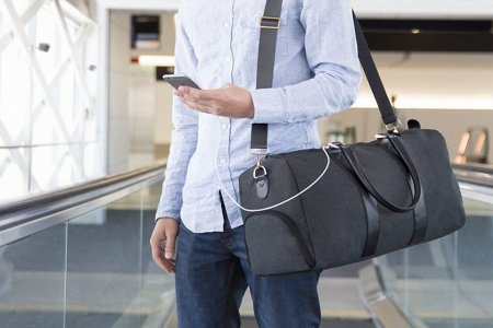 Why Shouldn't Our Travel Bag Also Charge Our Phone?