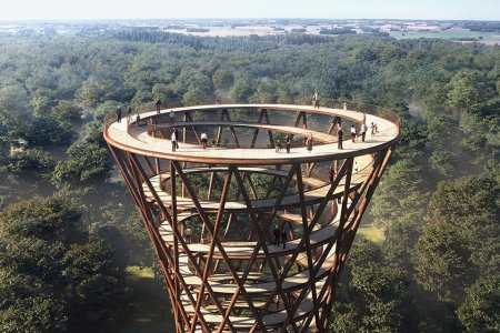 Fact: Nature Is More Sublime From a Spiraling Observation Tower
