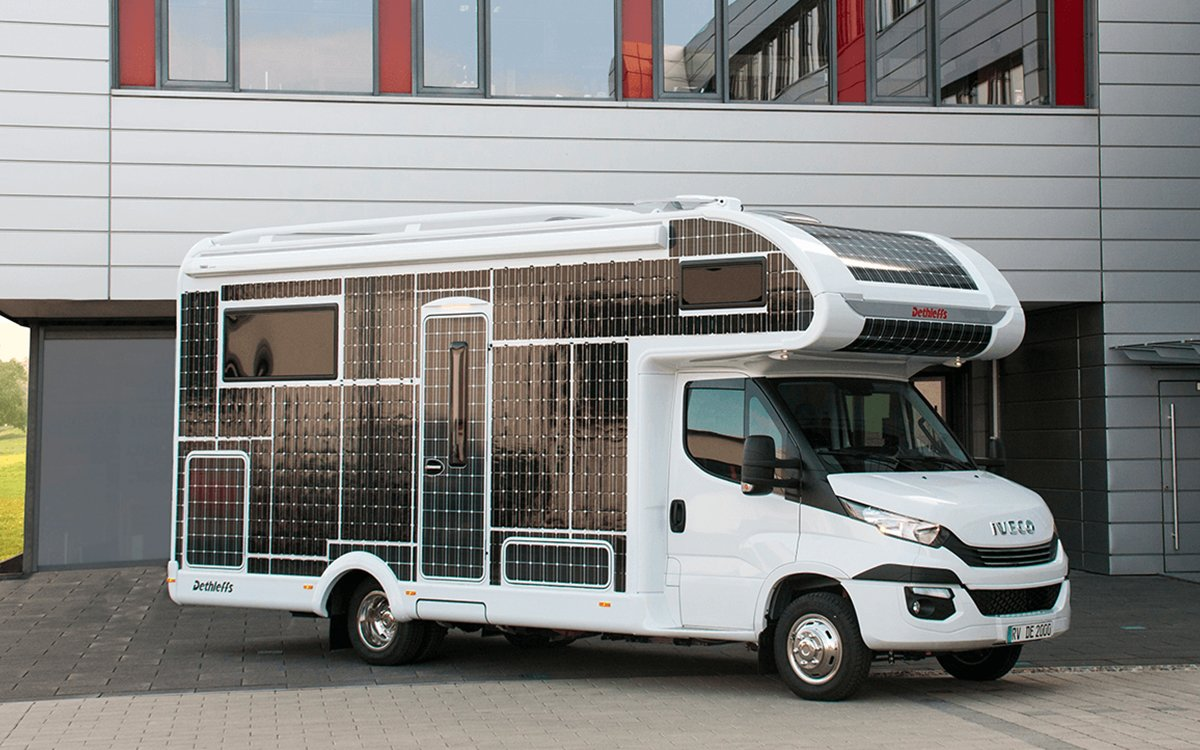 Solar-Powered RV Will Take You on the World's Most Conspicuous Road Trip