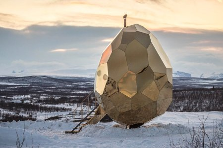 Would You Like a Shvitz in a Golden Egg at the Top of the World?