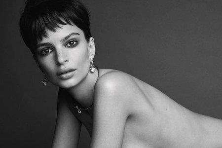Emily Ratajkowski Still Hates Clothes, Confirms LOVE Magazine