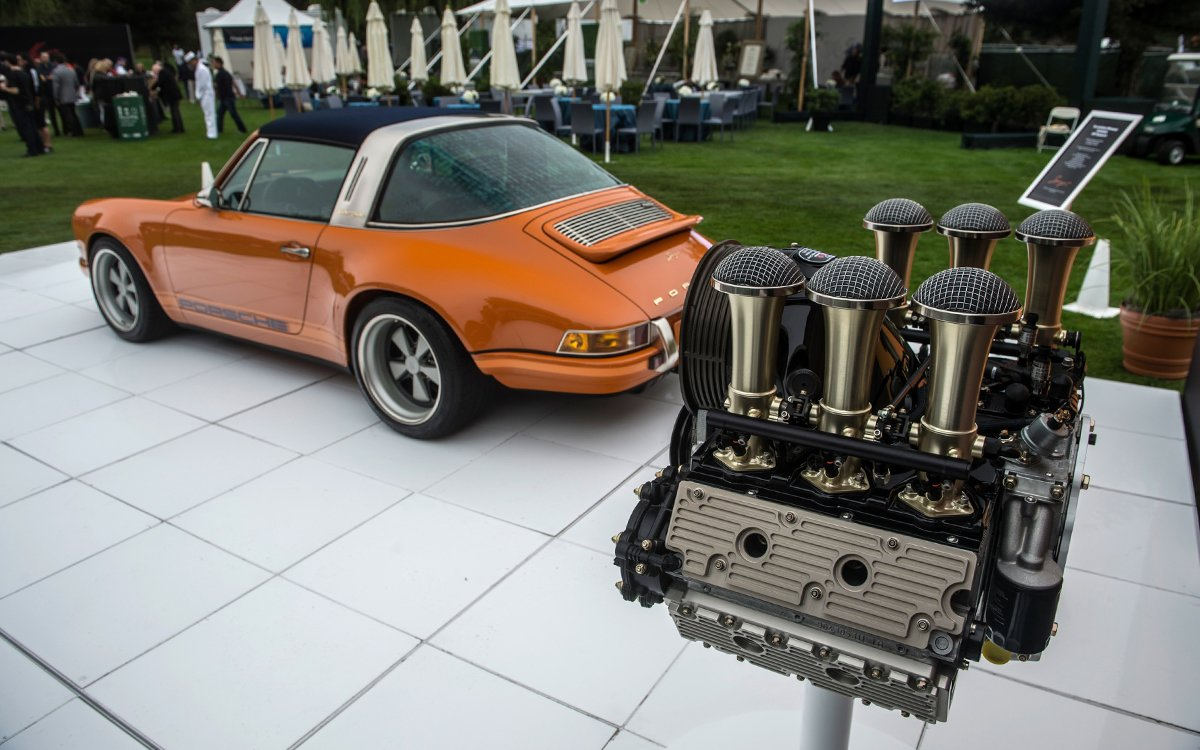 This Custom 911 Engine Might Be Prettier Than the Car It Came Out Of