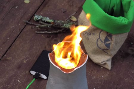 Greenest Camp Stove Ever?