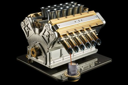 This Gold-Plated V12 Wants to Be Your New Barista