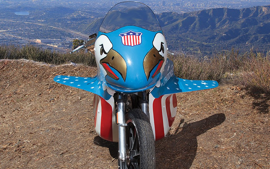 Evel Knievel S 1976 Harley Davidson Goes To Auction: Evel Knievel's Stratocycle Up For Sale