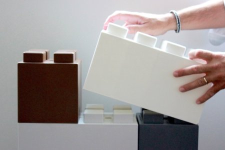 You Can Build Walls, Office Furniture Out of These Giant Lego Blocks