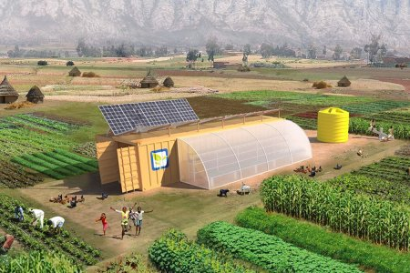 A Two-Acre Sustainable Farm That Comes in a Box