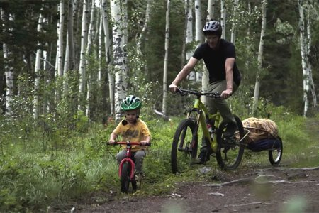 This Toddler Can Probably Kick Your Ass Down a Biking Trail