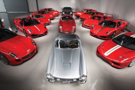 Some Speed Junkie Is Looking to Unload His Unbelievable Collection of Ferraris
