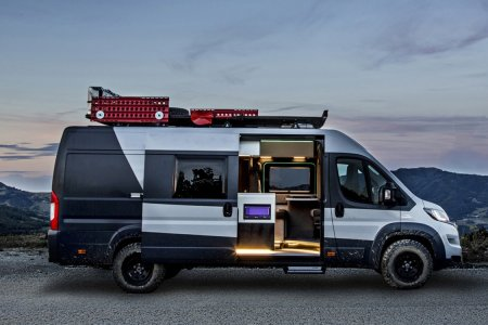 Someone Turned a Fiat Van Into the Sexiest Camper You've Seen