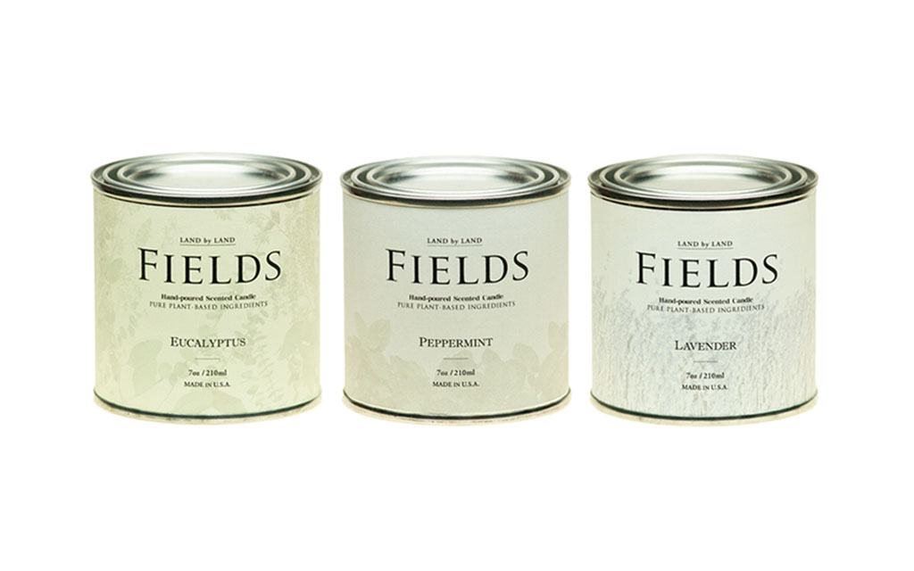 Fields Candle Set
