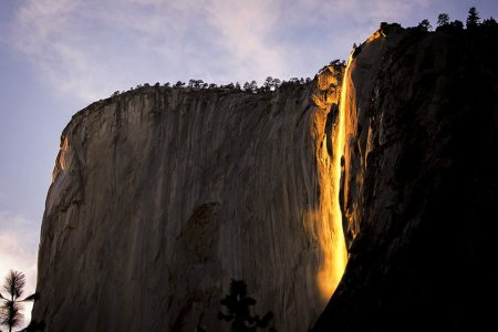 "The Legend of Yosemite's Fabled ""Firefalls"""