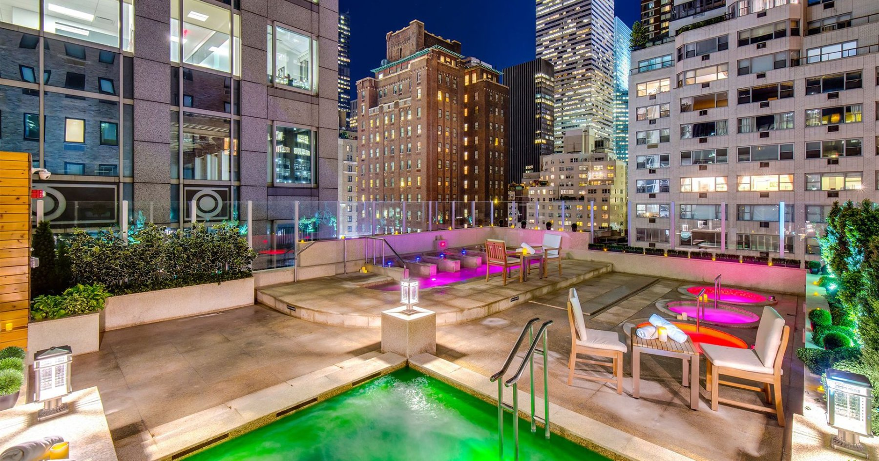 Consider the Rooftop Hot-Tub Date
