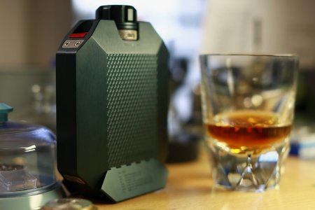 A Flask So Discerning It Hides the Good Stuff From Your Friends