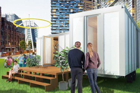 You Can Build This Flat-Pack House With Just a Drill and Hammer