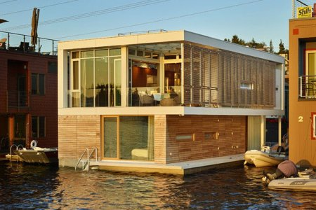 Why Have a House When You Can Have a Floating House?