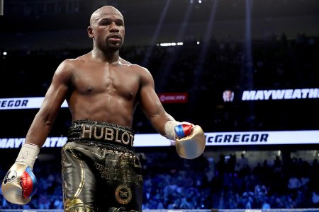 Floyd Mayweather Is Too Chicken to Get in the Octagon With Conor McGregor
