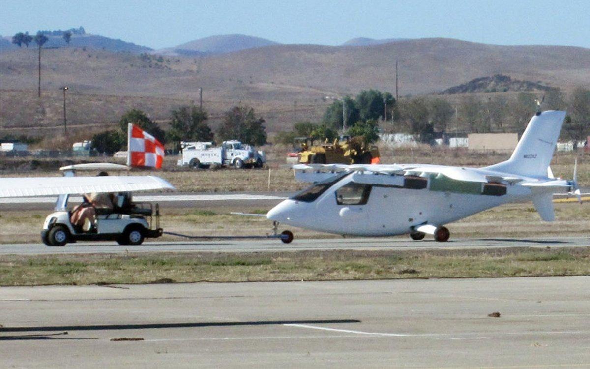 Google Co-Founder's (Not So) Secret Flying Car Spotted