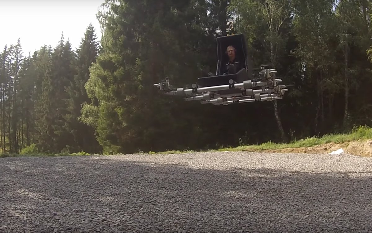 Swedish Man's Magic Carpet Is a Thing of Beauty, Nightmares