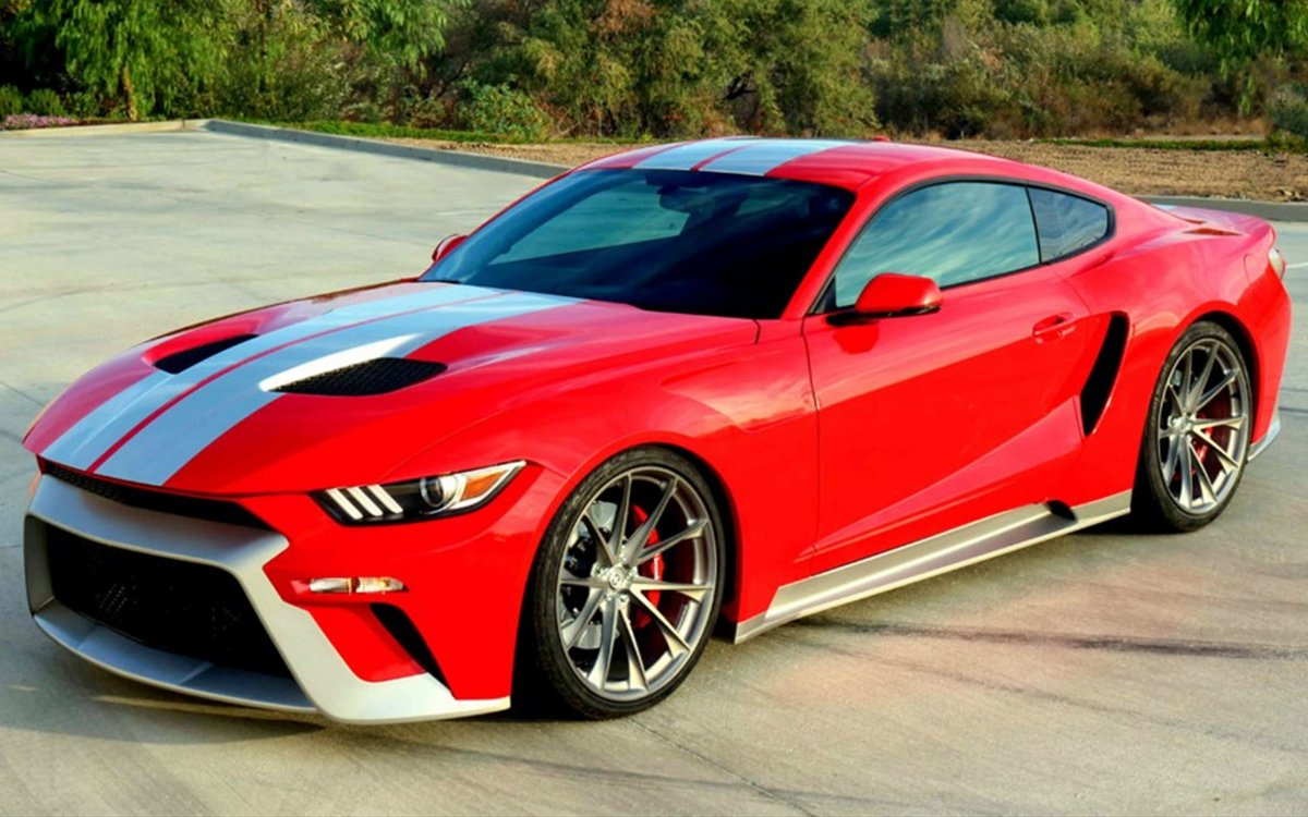 Someone decided a ford gt mustang hybrid is a good idea