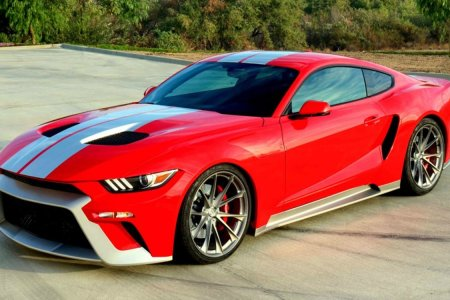 Someone Decided a Ford GT/Mustang Hybrid Is a Good Idea