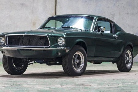 This 'Bullitt' Tribute Mustang Comes With a License to Burn Rubber