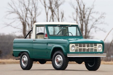 This '67 Ford Bronco Is Half the Cab, Twice the Fun