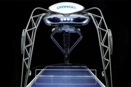 This Ping-Pong Robot Learns Your Skill Level, Then Whups You