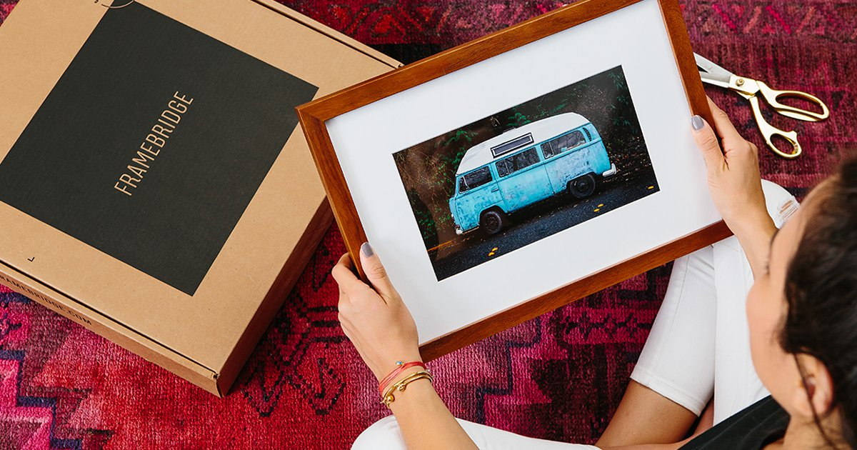 How to Cheaply and Easily (and Finally) Frame/Hang That Art You've Got Lying Around