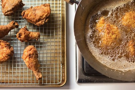 You Can Make Better Fried Chicken Than Whatever's in That Bucket