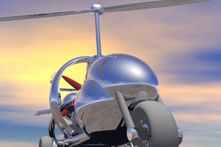 Innovative Gyrocycle Goes From Street to Stratosphere (or Close to It)