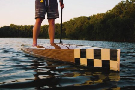 We Hereby Declare This Wooden Vessel the Yacht of SUP Boards