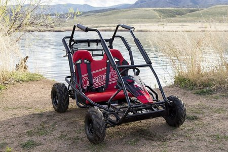 Buckle Up, Coleman's Backcountry Go-Kart Could Get a Little Bumpy