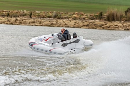 This Inflatable Jet Ski Boat Is One Toy The Kids Can't Play With