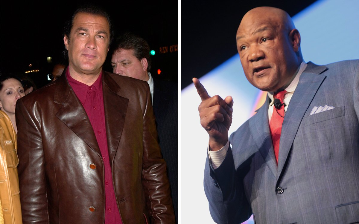 George Foreman Wants to Fight Steven Seagal Because Who Cares Why