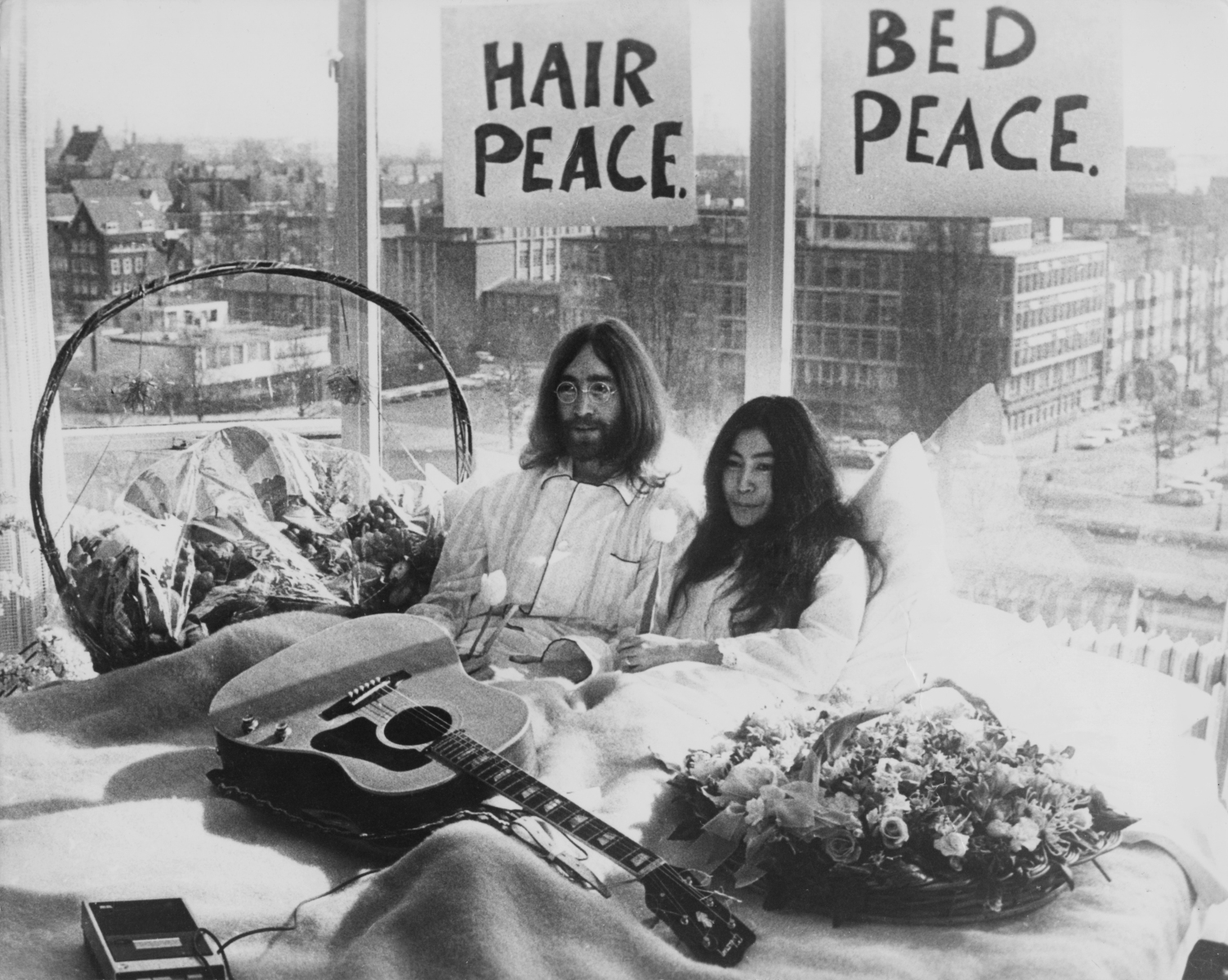 Revisiting John Lennon and Yoko Ono's Bed-In 50 Years Later - InsideHook