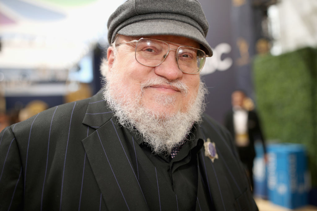 LOS ANGELES, CA - SEPTEMBER 17:  70th ANNUAL PRIMETIME EMMY AWARDS -- Pictured: Writer George R. R. Martin arrives to the 70th Annual Primetime Emmy Awards held at the Microsoft Theater on September 17, 2018.  NUP_184216  (Photo by Christopher Polk/NBC/NBCU Photo Bank via Getty Images)