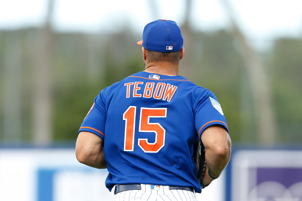 wholesale dealer 5a39f e7ca9 Can Tim Tebow Actually Be a Hit in the Majors? - InsideHook