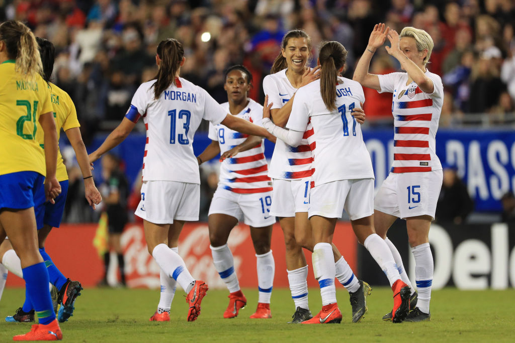 US Men's Soccer Players Call for Women's Team's Pay to Triple