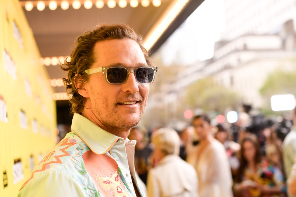 """Matthew McConaughey attends the """"The Beach Bum"""" Premiere 2019 SXSW Conference and Festivals at Paramount Theatre on March 09, 2019 in Austin, Texas. (Getty Images for SXSW)"""