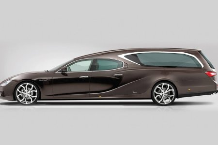 A Maserati Hearse Is a Fine-Looking Way to Waste Your Kids' Inheritance