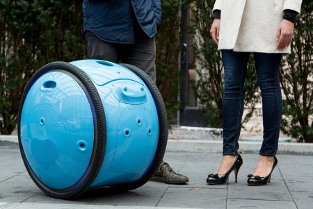 Vespa Just Unveiled a Robot That'll Carry Stuff for You