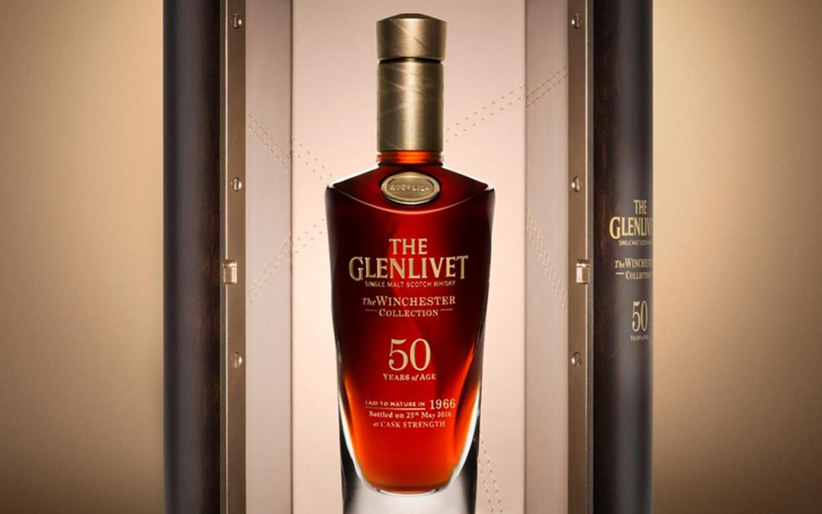 The Glenlivet Is Auctioning a 50-Year-Old Bottle of Scotch