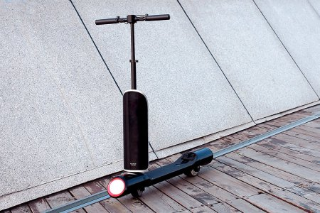 This Electric Space-Age Scooter Is Really Good at Disguising Itself