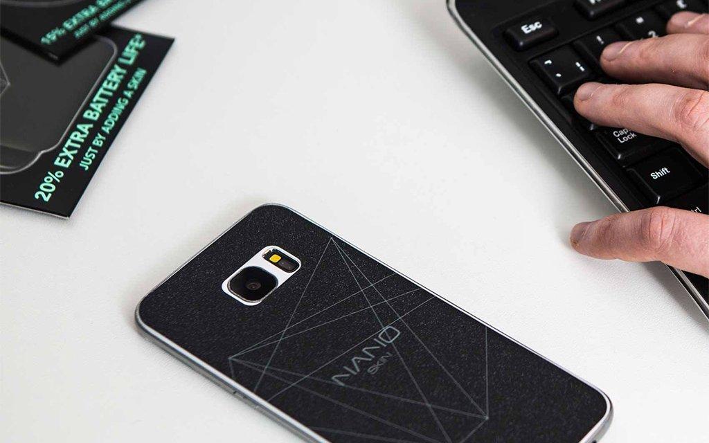 Graphene NanoSkin Increases Smartphone Battery Life 25