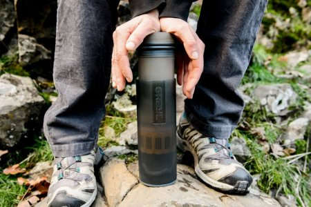 The Dirtiest of Waters Are No Match for This Water Bottle Purifier