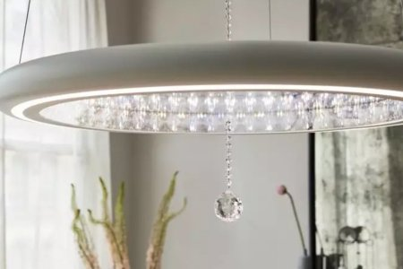 That Old Thing? Just My Swarovski Crystal-Lined Smart Chandelier.