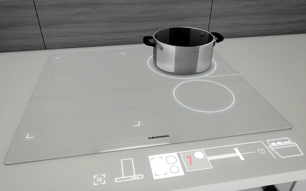 This Virtual Projector Will Give Your Kitchen a <i>TRON</i>-Inspired Makeover